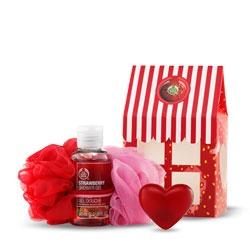 Strawberry Shower Set