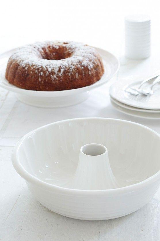 Sophie Conran White Porcelain Ring Cake Mould