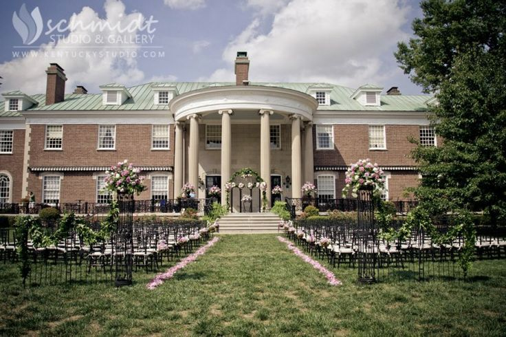 Spindletop Hall Weddings Outdoor Ceremony Ceremony