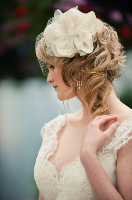 a tutorial for birdcage veils--wish I would have seen this before my dd's wedding.
