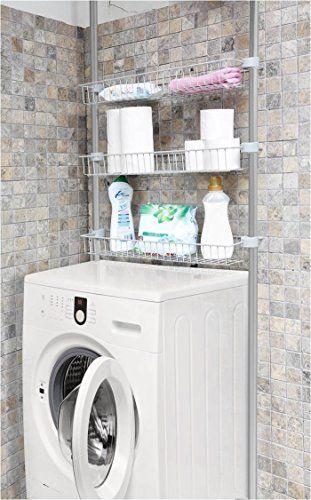 Scaffale per bagno, lavatrici überbauregal in alluminio a... https://www.amazon.it/dp/B01J9XHDAI/ref=cm_sw_r_pi_dp_x_ZdP9ybXDEE3J8