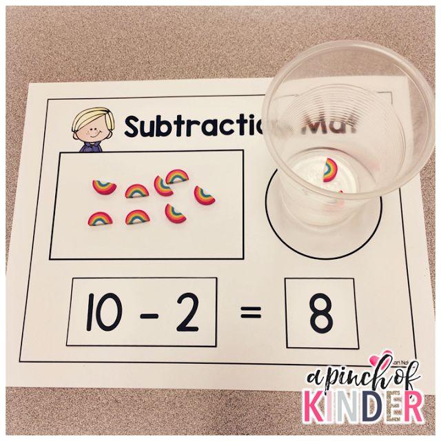 Best 25 Subtraction Kindergarten Ideas On Pinterest