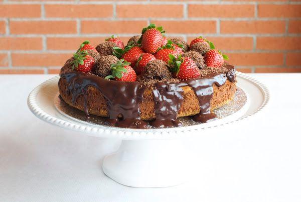 Cheesecake de chocolate | Cocinar en casa es facilisimo.com