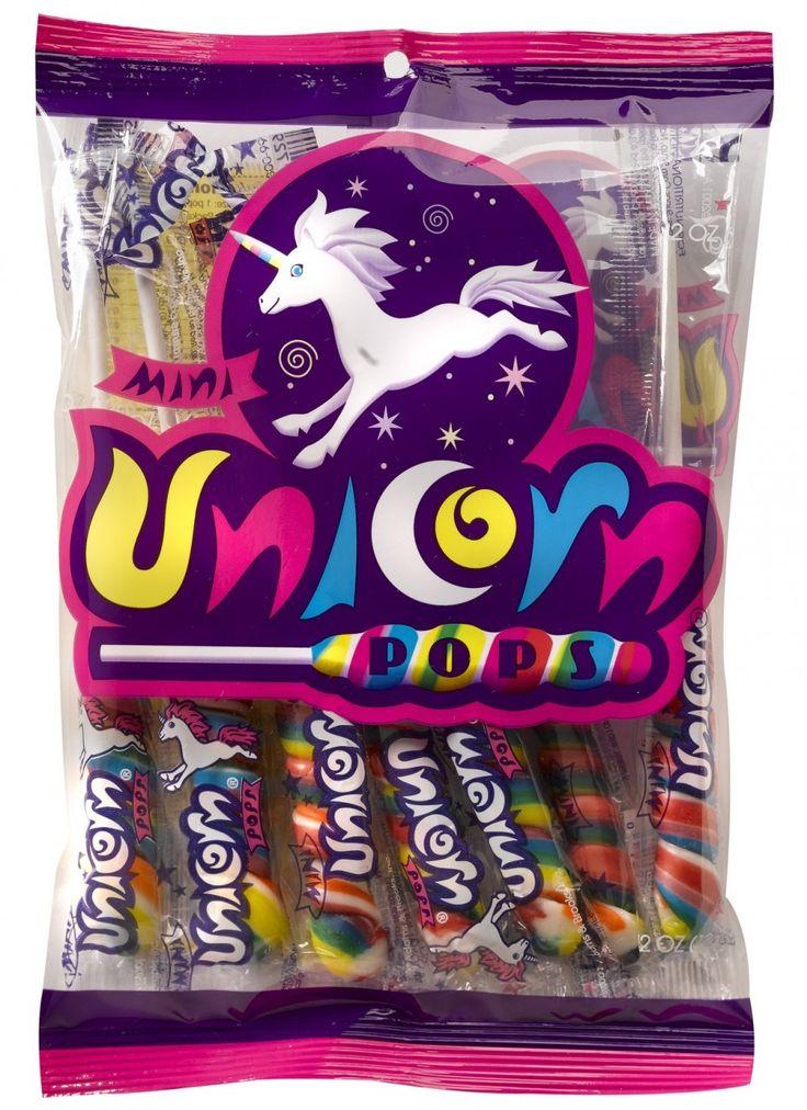 Candy nation inc unicorn pops mini box 288ct 8386