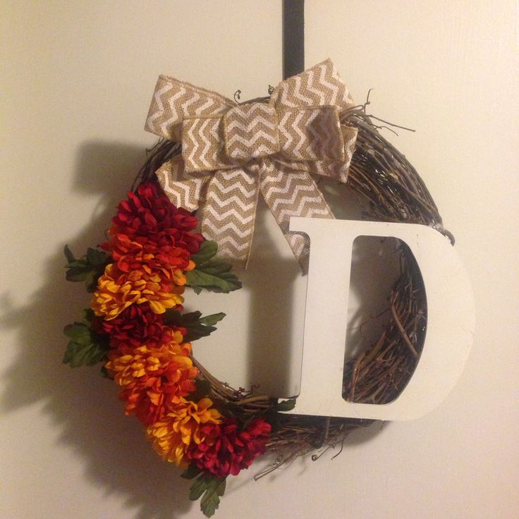 Fall Wreath For Front Door to Put