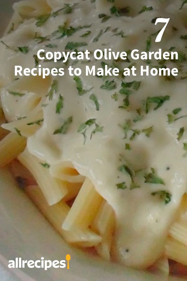 7 Copycat Olive Garden Recipes To Make At Home Come For The Pasta Stay For The Breadsticks Olive Garden Certainl In 2020 Recipes Food To Make Olive Garden Recipes