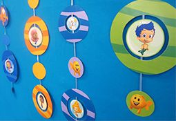 Free Bubble Guppies decoration printables at Nick Jr.