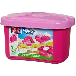 pink mega blocks from walmart