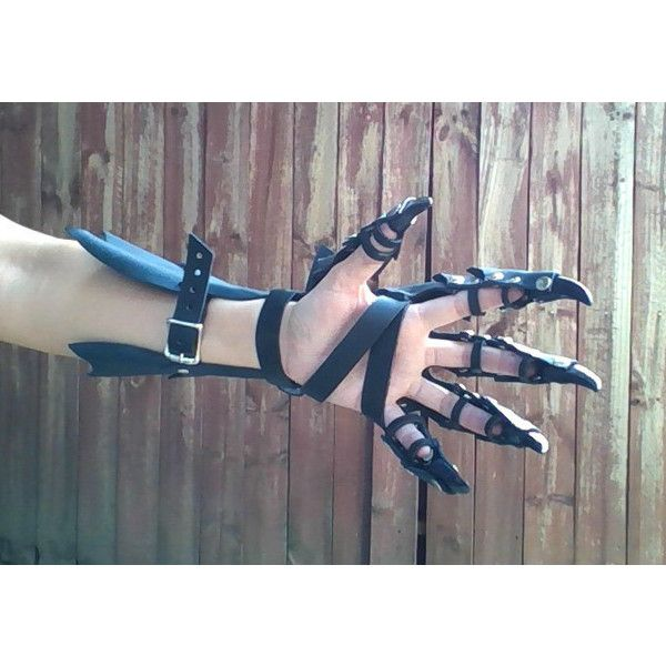 how to make claw gloves