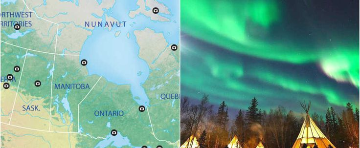 This Map Shows You The Best Places To View The Northern Lights In Canada featured image