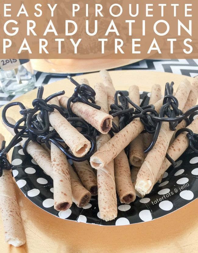 easy.pirouette.graduation.party.treats