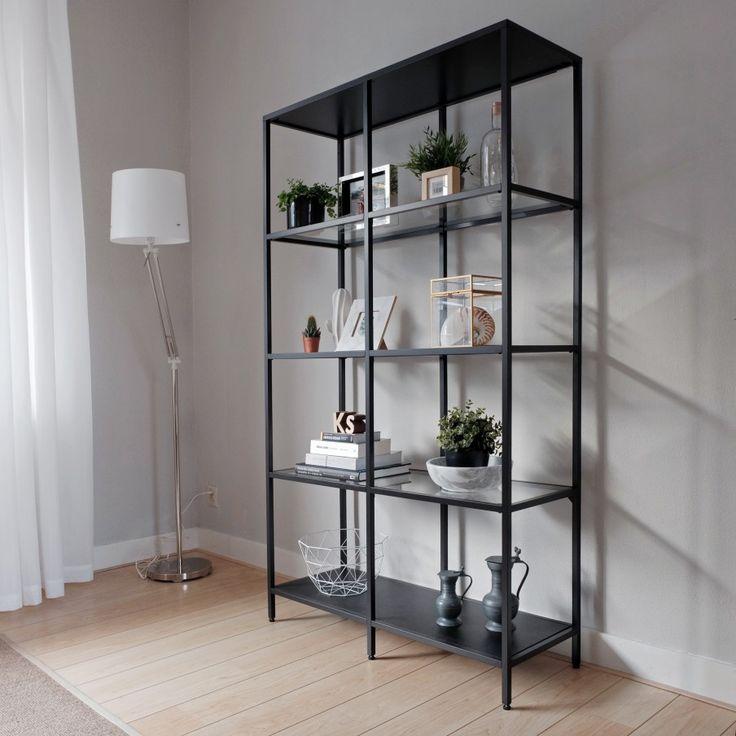 steel closet, stalen kast, black