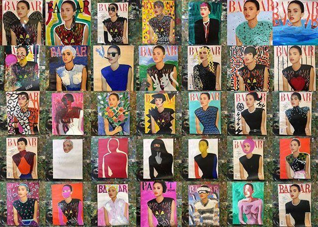 Já conferiu nossa capa de maio com toque artsy pela Patricia Magano? A artista customizou 70 capas com participação de amigos como @jocabenavent @candybrown410 @giuliaalterio @viccastelli @eduarda.rl e @flaviaeluf. Curtiu? Confira todas em harpersbazaar.uol.com.br  via HARPER'S BAZAAR BRAZIL MAGAZINE OFFICIAL INSTAGRAM - Fashion Campaigns  Haute Couture  Advertising  Editorial Photography  Magazine Cover Designs  Supermodels  Runway Models