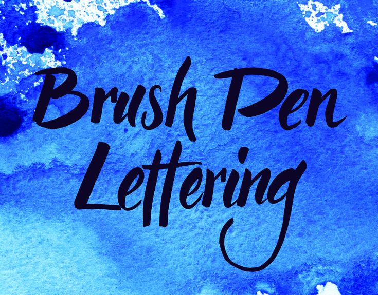 Brush Pen Lettering with Elke. You will find more informations on my Homepage www.wunschbriefe.at