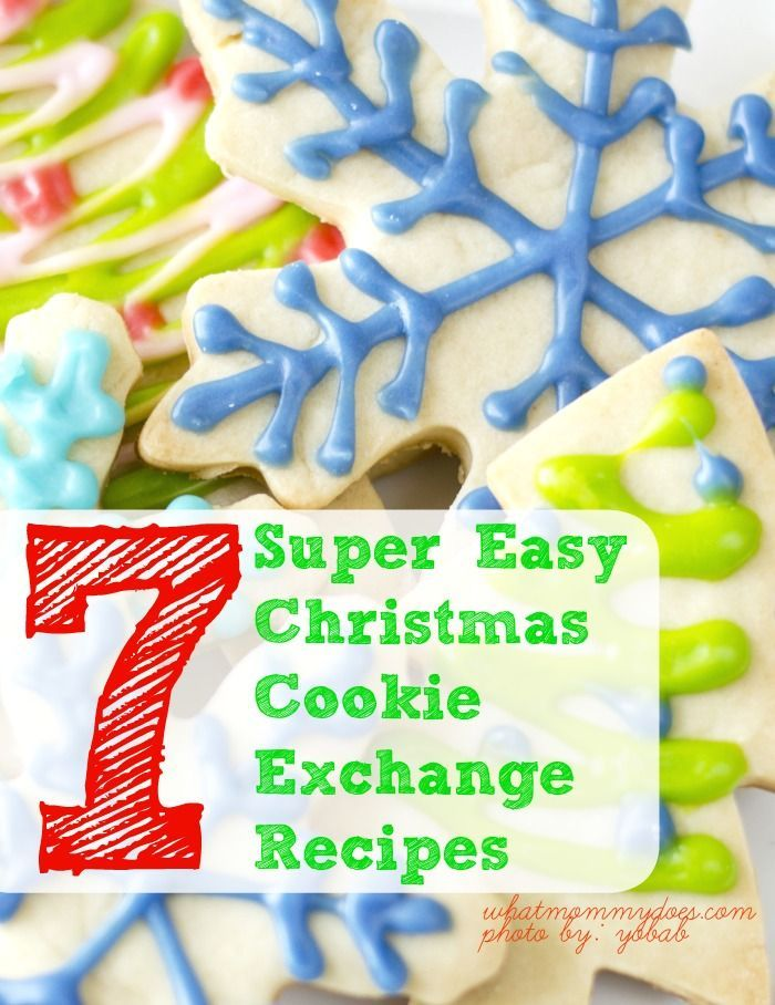 7 Super Easy Christmas Cookie Exchange Recipes Christmas