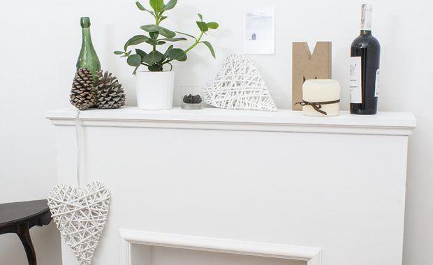 Atrapa kominka – romantyczna dekoracja pokoju