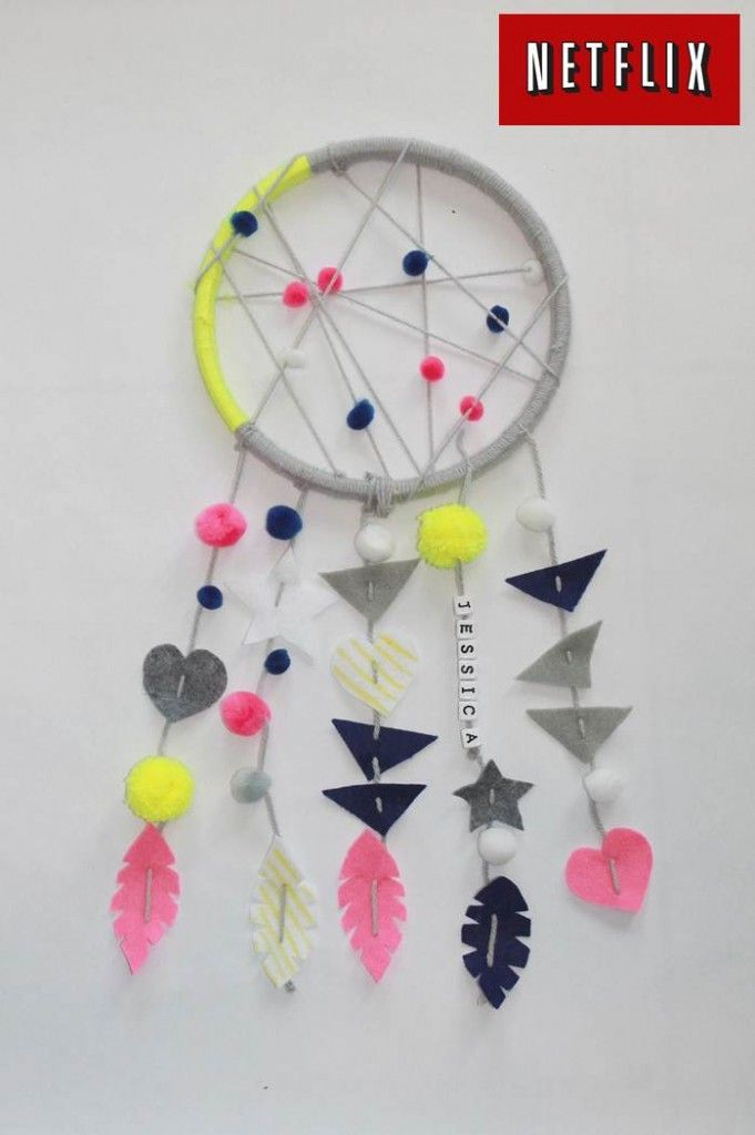 Dream Catcher for kids EASY DIY www.klscrafts.com; www.handmadebykelly.com