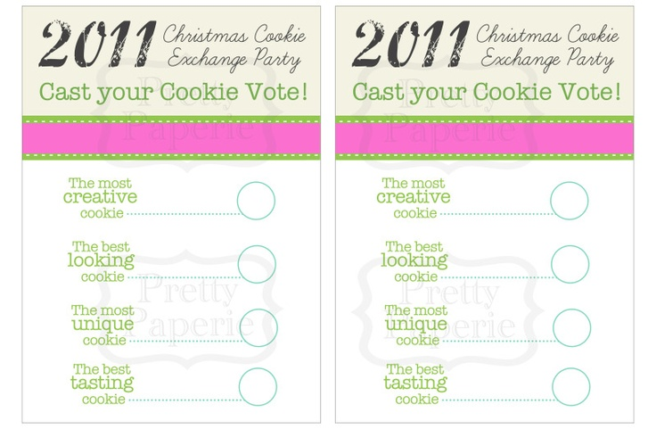 cookie exchange idea