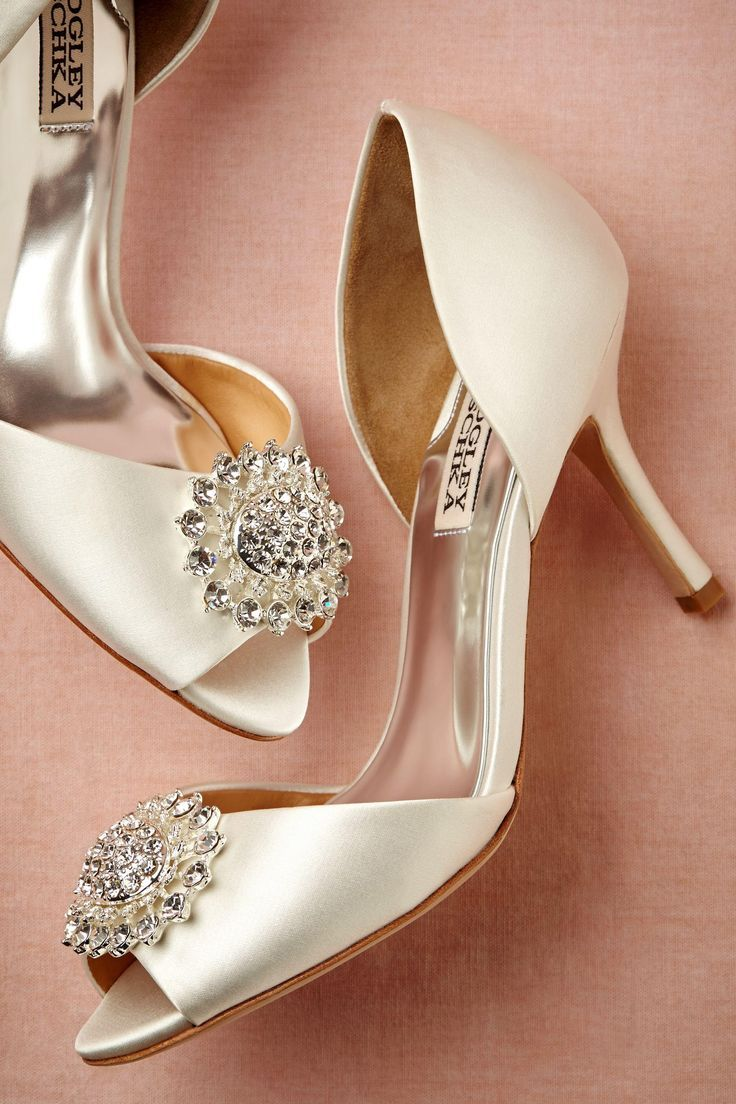 Great wedding day heels