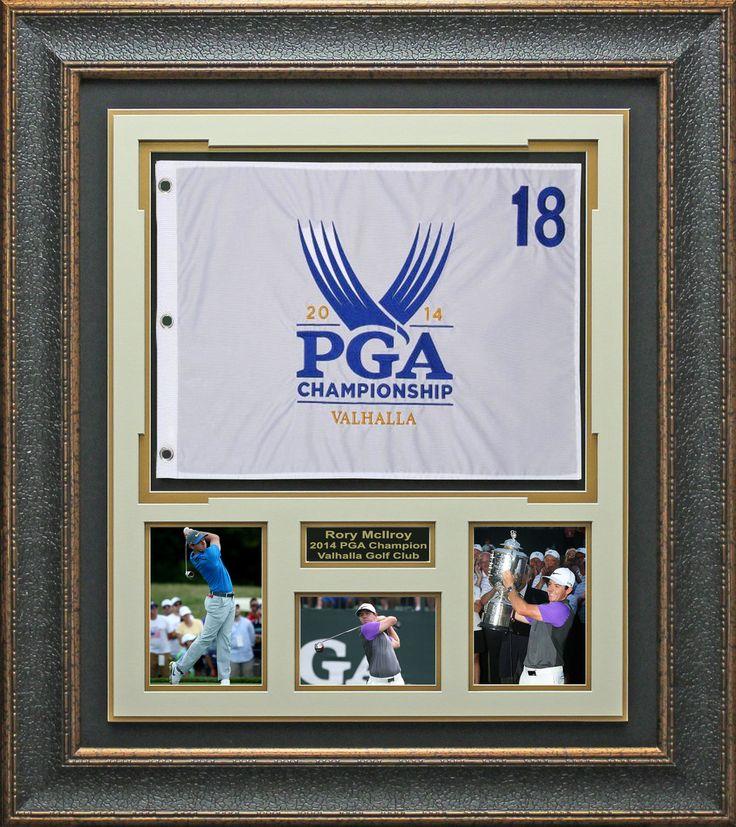 Signature Royale - Rory McIlroy 2014 PGA Championship Flag Display. #rory. #PGA, #golf, $275.00 (http://www.signatureroyale.com/rory-mcilroy-2014-pga-championship-flag-display/)