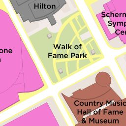 Walk of Fame Park :: Downtown Nashville