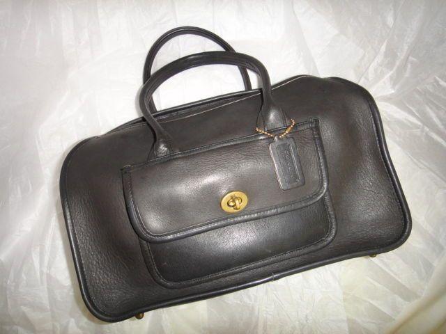 "Coach Extremly Rare,Vintage,PreCreed,""1940""Boston,Speedy Satchel Leather Handbag #Coach #Satchel"