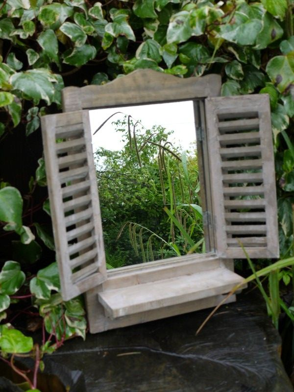 12 best Country Shuttered Window Garden Mirrors images on Pinterest