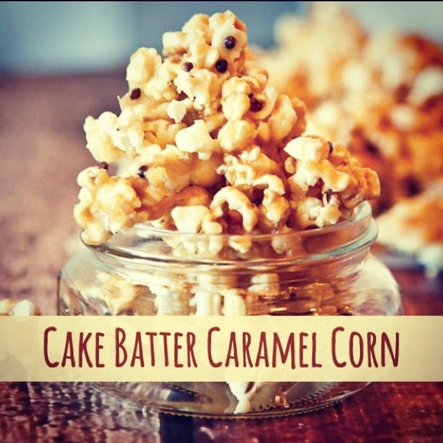 A packet of cake mix can be transformed into so much more! Try this recipe for Cake Batter Caramel Popcorn!