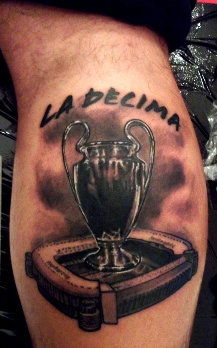La decima, Bernabeu, Champions league Trophy, Real madrid