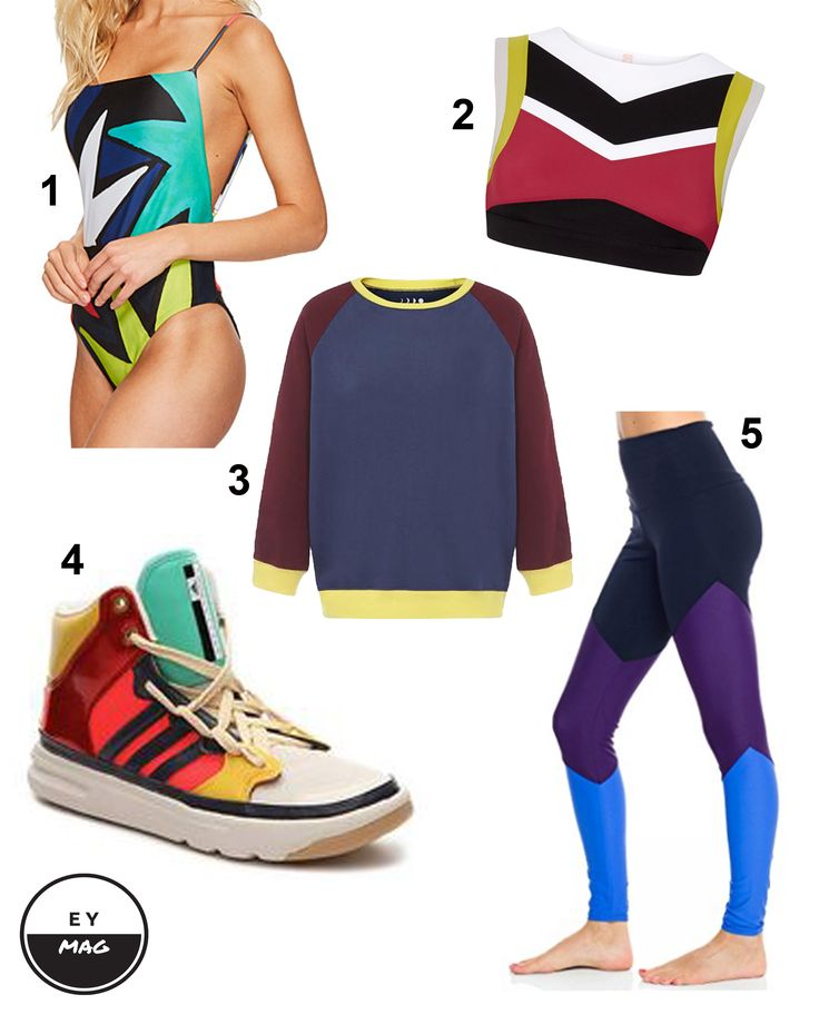 5 COLOUR BLOCK ACTIVEWEAR PICKS from EY MAG!