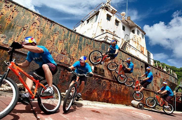 BMX. Caribbean style!