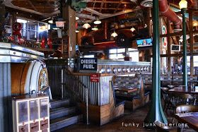 Funky Junk Interiors: Junk filled pub decorating you won't believe!