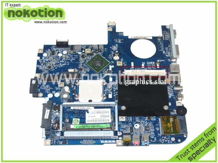 88.35$  Watch now - http://ali7uf.worldwells.pw/go.php?t=32265354100 - MBAK302002 Laptop Motherboard for ACER Aspire 7520 5520 MB.AK302.002 ICW50 LA-3581P with graphics slot MCP67MV Mainboard