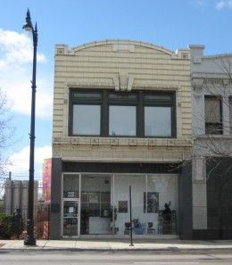 The legendary Chess Records Studios at 2120 South Michigan Avenue in Chicago.