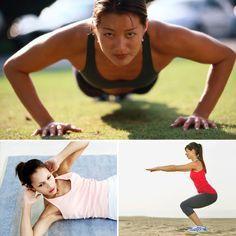 Full Body Circuit Workout - No Equipment
