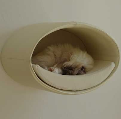 Kratzbaum Rondo für die Wandmontage, Cat scratcher Rondo for wall mounting, tiragraffi per gatti Rondo per montaggio a parete,