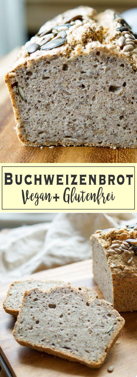 veganes und glutenfreies Brot Rezept, aktiviertes Buchweizenbrot mit Kichererbsenmehl und Vollkorn. Einfach und gesund. Perfekt für Sandwiches und Toasts. Elle Republic