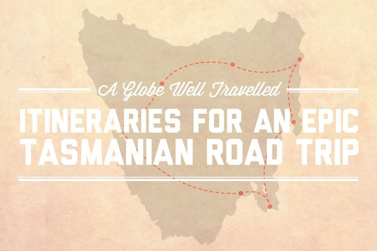 Many people wanting to experience the best of Tassie have no idea how to go about it. So, I've decided to share some epic road trip itineraries with you!