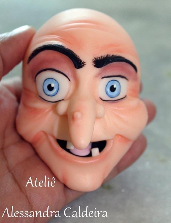 porcelana fria polymer clay  bruja