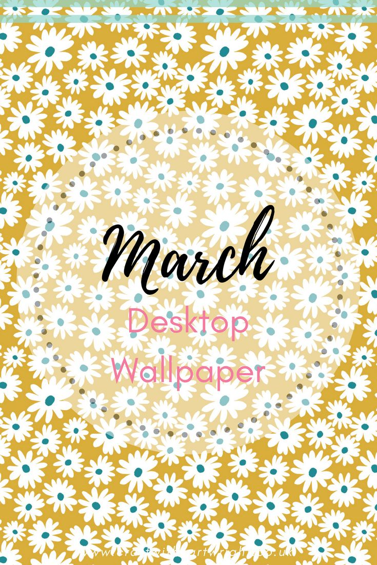 OK. It's is still snowing outside as I write this, but Spring should be round the corner any minute now. Even if it still feels along way off you can give yourself a little ray of sunshine everyday with this months Free March desktop wallpaper download.