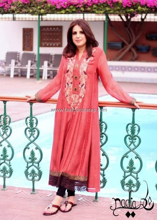 Nadia Farooqui Eid Dresses 2013 for Women 008