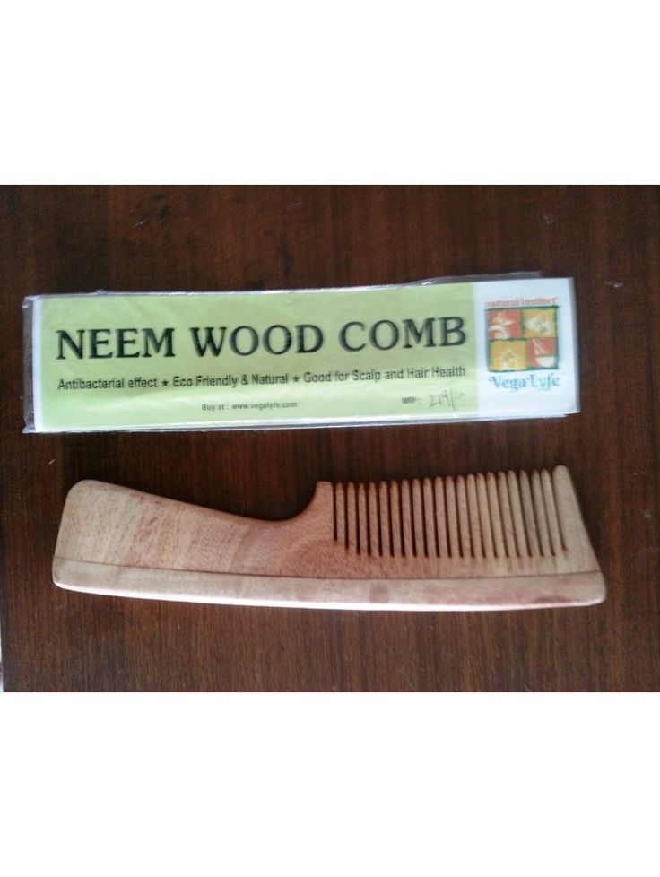 Neem Wood Comb Female Buy here: http://www.vegalyfe.com/neem-wood-comb-female.html