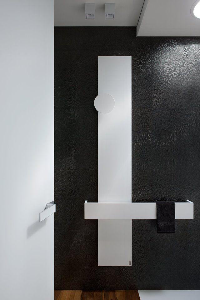 "#Square design Ludovica+Roberto Palomba. ""46 apartment"" - Dronero - is a project by Damilano Studio (www.damilanostudio.com)  Photo by Barbara Corsico #Project #Architect #Architecture #Homedetails #Square #Design #Palombaserafini #Tubesradiatori #Madeinitaly"