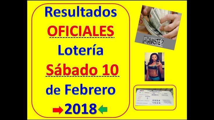 Resultados Sorteo Loteria Sabado 10 Febrero 2018 Loteria Nacional Panama Numeros Que Jugo Sabado 10