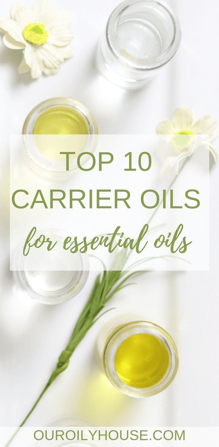 Top 10 Best Carrier Oils for Essential Oils