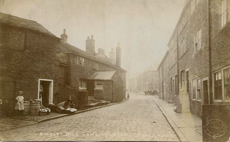 Buckley Hill Lane, from the bottom.