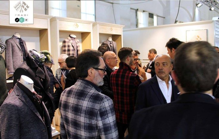 The new ‪Fall Winter 2016‬ ‪collection‬ at Pitti Uomo 89.  #florence #pittiuomo #pu89 #pittigenerations #pittipeople #fradistyle #italianstyle #fradicollection #autumnwinter  #style #firenze #fortezzadabasso