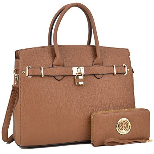 DASEIN Womens Top Handle Satchel Handbags Designer Tote P...