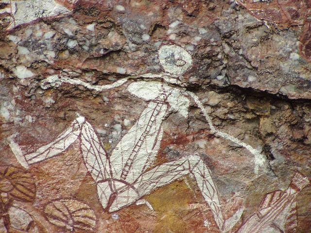 Kakadu - situato nel territorio del nord dell'Australia, il parco nazionale di Kakadu contiene una delle più grandi concentrazioni di siti di arte aborigena australiana