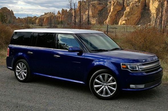 2016 Ford Flex (Model) Exterior villaford.com